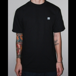 Black Label Pocket Tee_Black