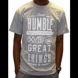Humble Heather/White_Shirt