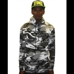 FLA Camo Hood_Black/White