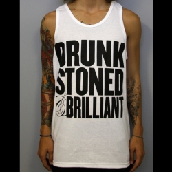 Drunk Stoned & Brilliant_V1_Tank