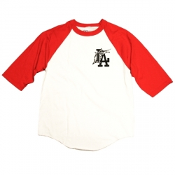 FLA Baseball_White/Red