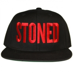 Stoned_Black/Red_Snapback