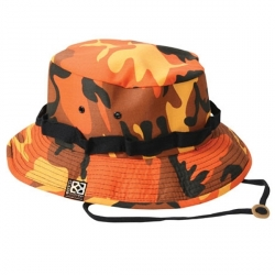 Camo Bucket_Hat_Orange