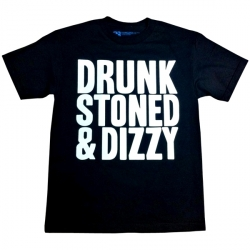 Drunk Stoned & Dizzy_Black