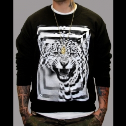 Leopard Crew_Black