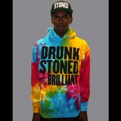 Drunk Stoned & Brilliant_Tie Dye