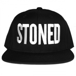 Stoned_Black/White_Snapback